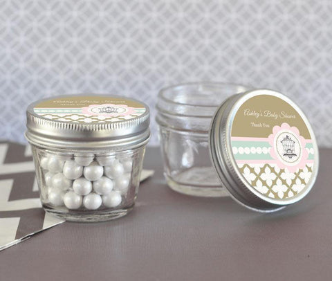 Birdcage Party Small 4 oz Mason Jars-Jubilee Favors