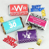 Birthday Hershey's Assorted Miniatures Wrappers - Adult Collection (Set of 100)-Jubilee Favors