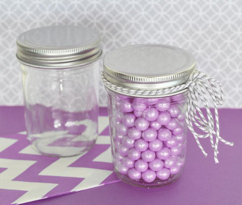 Blank Mini Mason Jars-Jubilee Favors