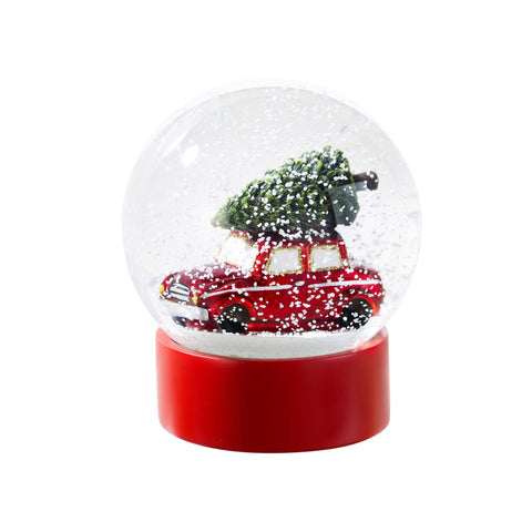 Botanical Car Snow Globe-Jubilee Favors