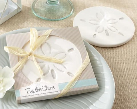 """By the Shore"" Sand Dollar Coaster-Jubilee Favors"