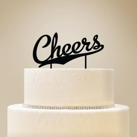 Cheers Cake Topper-Jubilee Favors