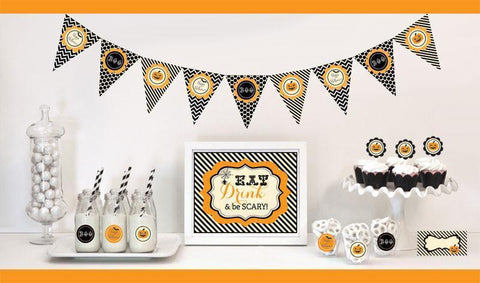 Classic Halloween Decorations Starter Kit-Jubilee Favors