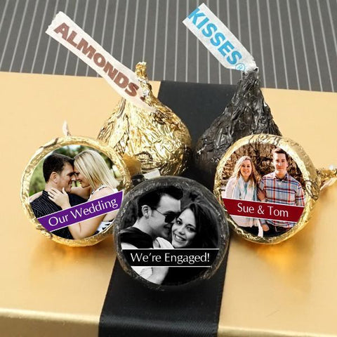 Colored Foil Hershey's Kisses - Photo Collection (Set of 100)-Jubilee Favors