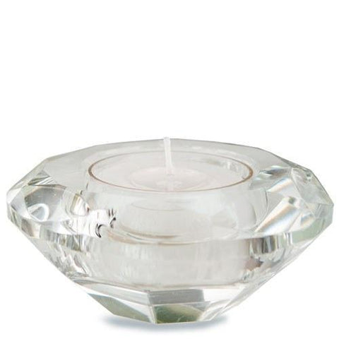 Crystal Tealight Holders (Set of 6)-Jubilee Favors