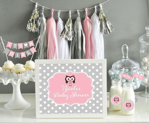 Custom Text Sign Baby-Jubilee Favors