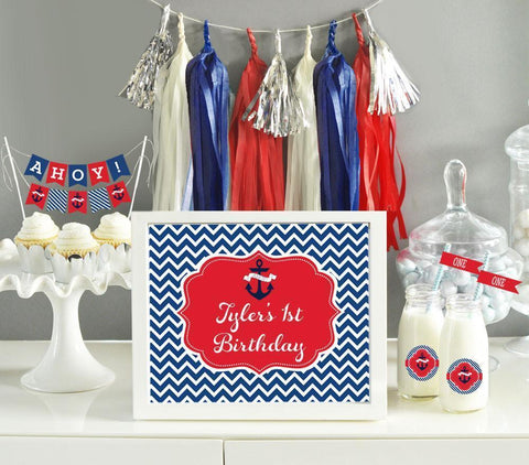 Custom Text Sign Birthday-Jubilee Favors
