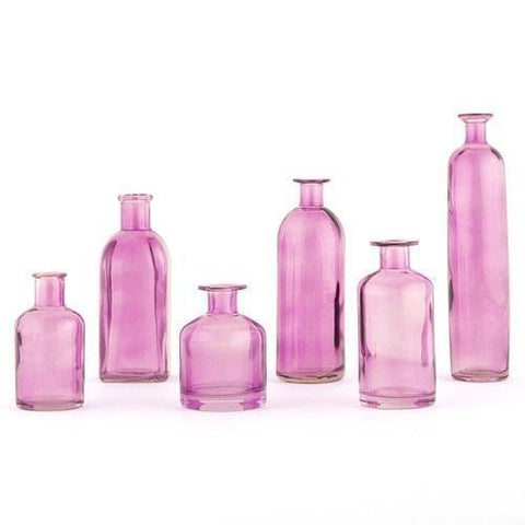 Decorating Glass Bottle Set - Purple for $ 19.99 at Jubilee Favors