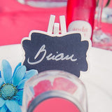 Decorative Chalkboards With White Frame - Small-Jubilee Favors