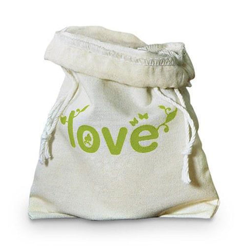 Eco Organic Cotton Drawstring Favor Bag-Jubilee Favors