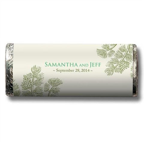 Evergreen Nut Free Gourmet Milk Chocolate Bar (Set of 8)-Jubilee Favors