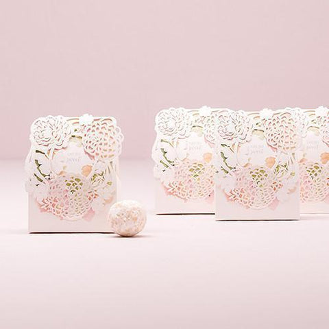 Floral Garden Favor Box Kit (set of 10)-Jubilee Favors