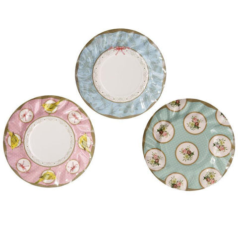 Frills & Frosting Medium Paper Plates-Jubilee Favors