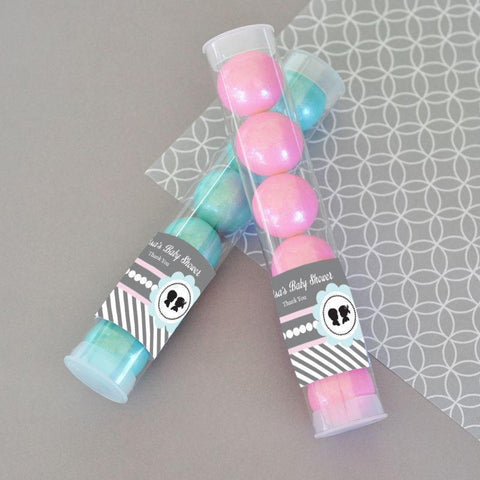 Gender Reveal Party Personalized Candy Tubes-Jubilee Favors