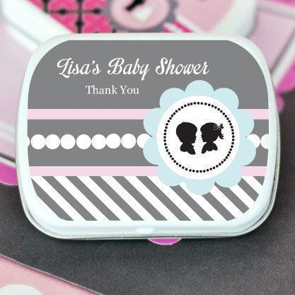 Gender Reveal Party Personalized Mint Tins-Jubilee Favors