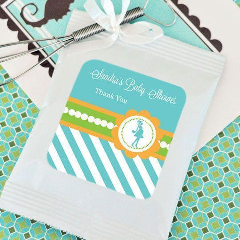 Going to Pop - Blue Personalized Hot Cocoa + Optional Heart Whisk-Jubilee Favors