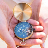 Gold Compass Wedding Favor (Set of 6)-Jubilee Favors
