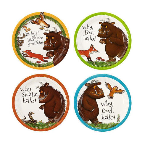 Gruffalo Paper Plates-Jubilee Favors  sc 1 st  Jubilee Favors & Decorative Paper Plates - Fancy Party Plates Supplies - Jubileefavors