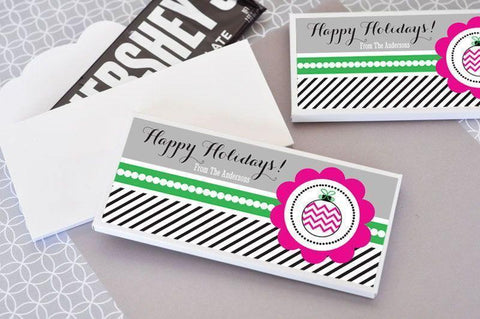 Holiday Party Candy Wrapper Covers-Jubilee Favors