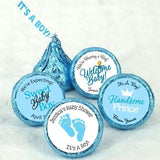 It's A Boy Blue Hershey Kiss Chocolate (set of 100) for $ 37.99 at Jubilee Favors
