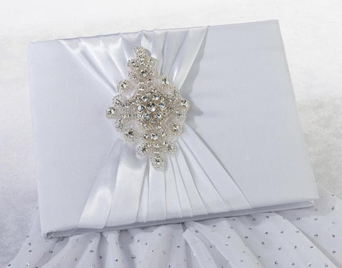 Jeweled Motif Guest Book-Jubilee Favors