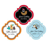 "Kid's Birthday 1.5"" Personalized Mini Favor Labels-Jubilee Favors"