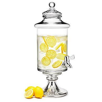 Large Glass Infusion Jar Beverage Dispener-Jubilee Favors
