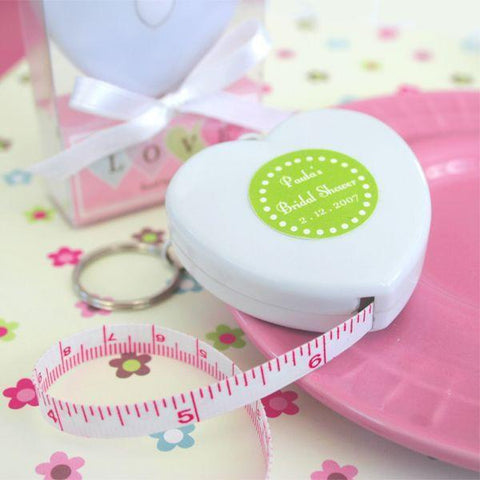 """Measure Up Some Love"" Heart Tape Measure-Jubilee Favors"