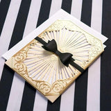 Medium Classic Black Paper Bows-Jubilee Favors