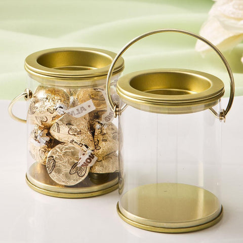 Mini Paint Can Candy Tin with Gold Lid-Jubilee Favors