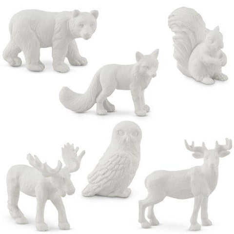Miniature Woodland Assorted Animal Set-Jubilee Favors