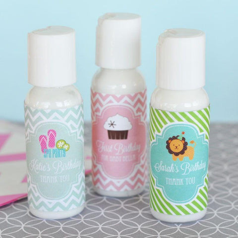 MOD Kid's Personalized Birthday Lotion-Jubilee Favors