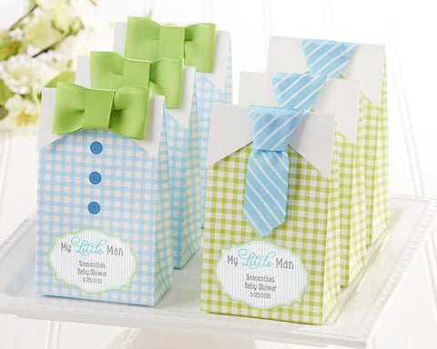 """My Little Man"" Candy Bags - Set of 24 Assorted-Jubilee Favors"