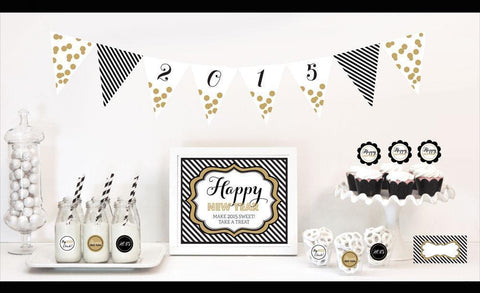 New Years Eve Party Decorations Starter Kit-Jubilee Favors