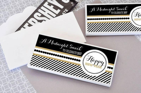 New Years Eve Party Personalized Candy Wrapper Covers-Jubilee Favors