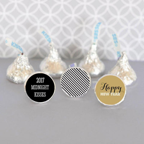New Years Eve Party Personalized Label Trio (set of 108)-Jubilee Favors