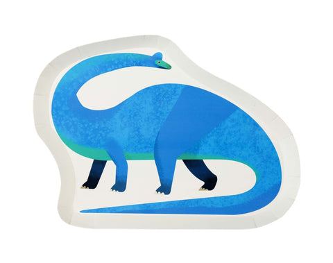 Party Dinosaur Shaped Plates-Jubilee Favors