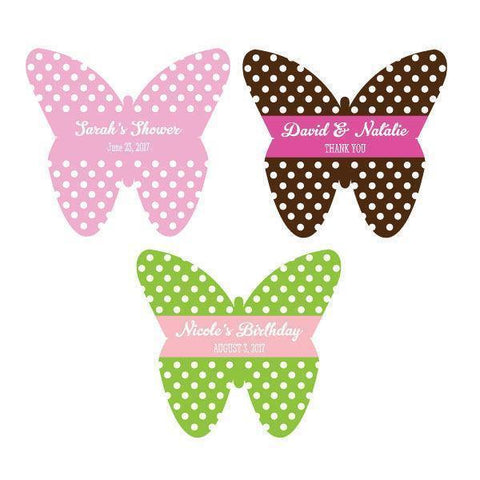 Personalized Butterfly Labels-Jubilee Favors