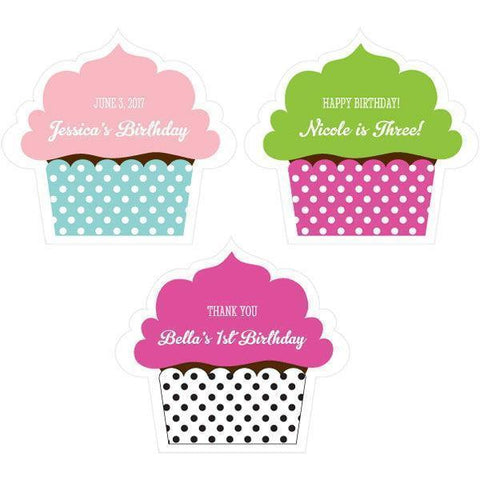 Personalized Cupcake Labels-Jubilee Favors