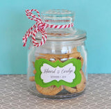 Personalized Mini Cookie Jars-Jubilee Favors