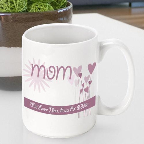 Personalized Mother's Day Coffee Mugs (11 Designs)-Jubilee Favors