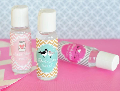 Personalized Theme Hand Sanitizer-Jubilee Favors