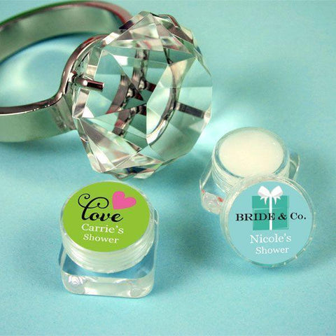 Personalized Theme Lip Butter-Jubilee Favors