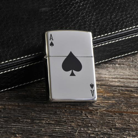 Personalized Zippo Aces Lighter-Jubilee Favors