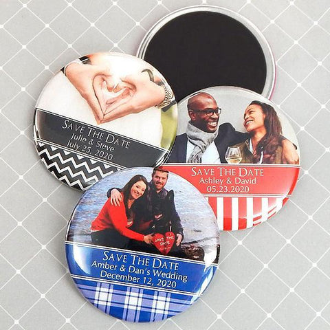 "Photo Magnets - 2.25""-Jubilee Favors"