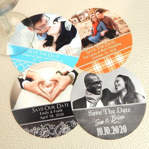 Photo Paper Coasters-Jubilee Favors