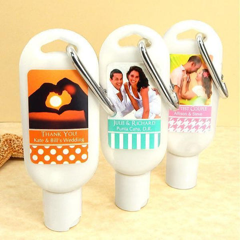 Photo Sunscreen with Carabiner (SPF 30)-Jubilee Favors
