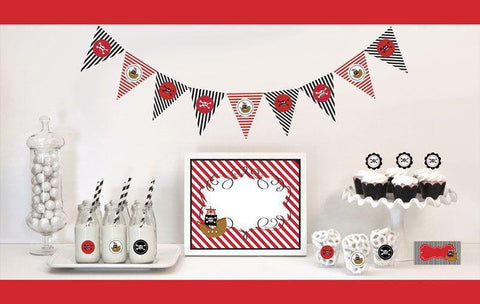 Pirate Party Decorations Starter Kit-Jubilee Favors
