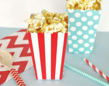 Popcorn 'n Treats Boxes (Set of 12)-Jubilee Favors