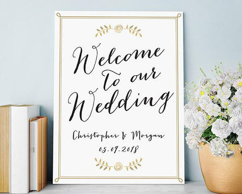 Poster (18 x 24) - Wedding-Jubilee Favors